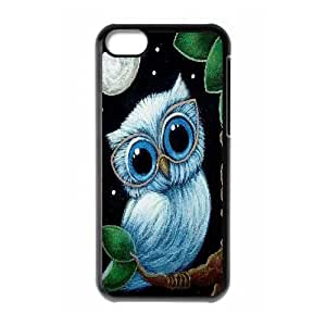 Wlicke Owl New Style Durable Iphone 5c Case, Personalized Protective Case for Iphone 5c with Owl