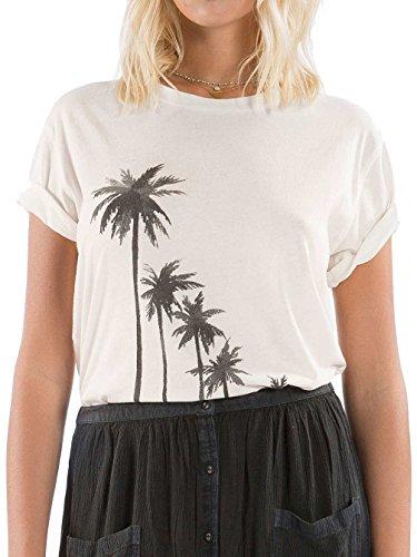 Billabong Bad Water, Camiseta para mujer Bianco