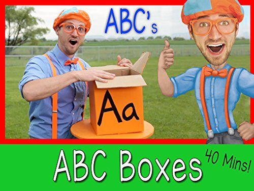 Learn The Alphabet With Blippi - ABC Letter Boxes