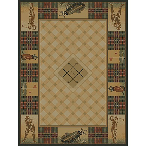 Westfield Home Ridgeland Golf Pro Accent Rug - 3'11 x 5'3 from by Westfield Home