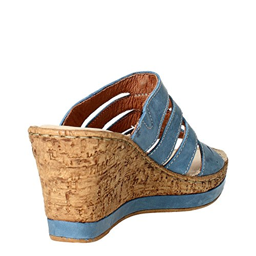 Cinzia Soft IAR 15106 001 Chancla Mujer Azul claro