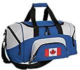 SMALL Canada Flag Travel Bag Canada Gym Workout Bag