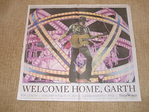 (Garth Brooks 2015 Tulsa Opening Night Concert Poster (22