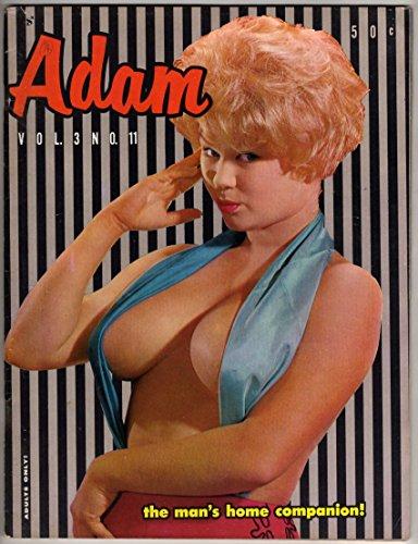 Adam - The Man's Home Companion! - Vol. 3 No. 11 - November 1959 [VINTAGE MEN'S MAGAZINE]