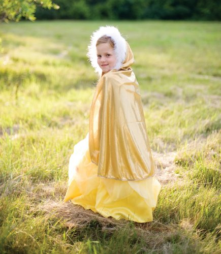 Creative Education's Gold Glitter Cape