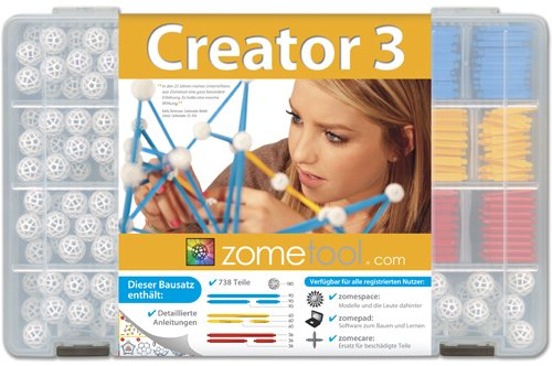 Unbekannt Zome Tool 49034 – Construction Jouets, Creator 3, 738 Pièces getDigital