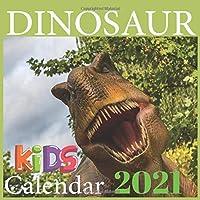DINOSAUR Calendar: HAPPY KIDS CALENDAR , 2021 Wall & Office Calendar, 12 Month Calendar