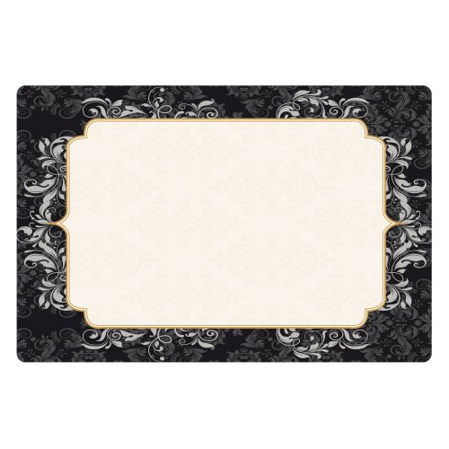 Hoffmaster 311092 901-FD422 Elegance Placemat, 10'' x 15'' (Pack of 1000) by Hoffmaster