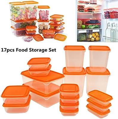 Janolia - Contenedores de comida para preparar 17 piezas ...
