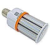 60W LED Corn Light Bulb, 250W Equivalent, Large Mogul E39 Base, 8115 Lumens, 5000K, IP64 Waterproof Outdoor Indoor Area Lighting, Replacement for Metal Halide HID, CFL, HPS