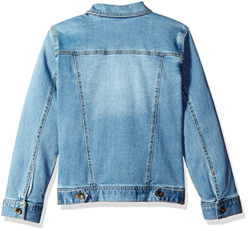 Boys' Stone Guess Wash Blue Jean Stretch Big Light Denim Jacket Zx4q1U