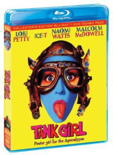 Tank Girl (Collector's Edition) [Bluray/DVD Combo] [Blu-ray] (Best Lip Lock Ever)