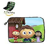SSAGE-TOP Kid Show SuperWhy Electronics Accessories Bag / Electronic Accessories Travel Bag