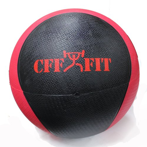 CFF Deluxe Rubber Medicine Ball, 20-Pound