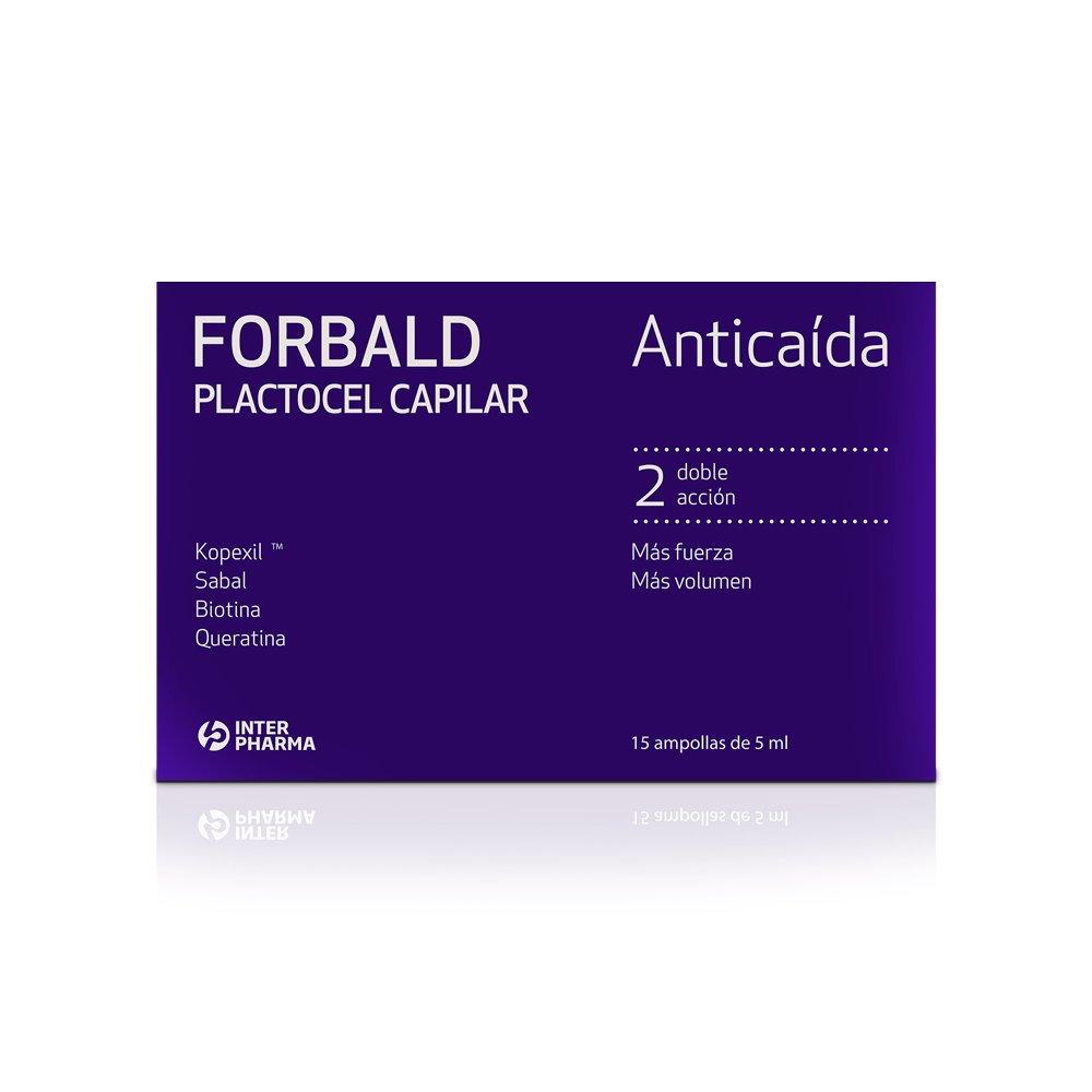 FORBALD PLACTOCEL CAPILAR 15 AMPOLLAS Interpharma S.A. 74