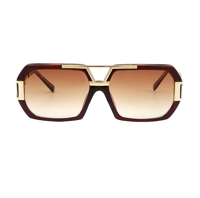 Gafas De Sol Cuadradas Grandes De Moda Gafas De Sol De Metal ...