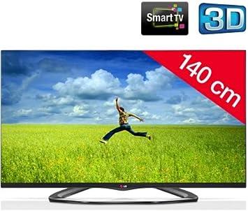 LG Televisor LED 3D 55LA660S + Soporte mural fijo negro: Amazon ...