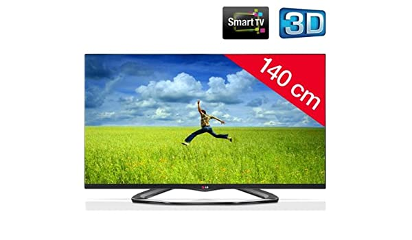 LG Televisor LED 3D 55LA660S + Soporte mural fijo negro: Amazon.es ...