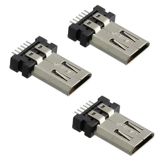 Micro USB Charging Port Connector for JBL FLIP 3 Bluetooth Speaker (3 Pack)