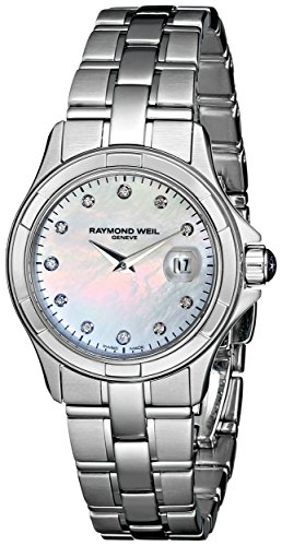 Raymond-Weil-Womens-9460-ST-97081-Parsifal-Diamond-Accented-Stainless-Steel-Watch