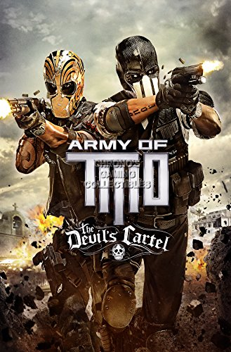 """Price comparison product image CGC Huge Poster - Army of Two The Devil's Cartel PS3 XBOX 360 - OTH116 (24"""" x 36"""" (61cm x 91.5cm))"""