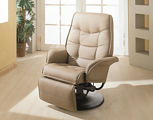 Coaster Furniture Swivel Recliner Flared