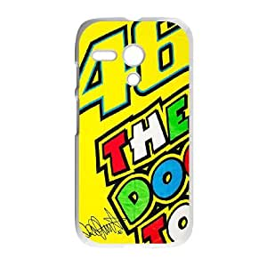 Motorola G Cell Phone Case White Valentino Rossi Phone cover O7529665