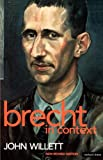 Brecht in Context, John Willett, 0413723100