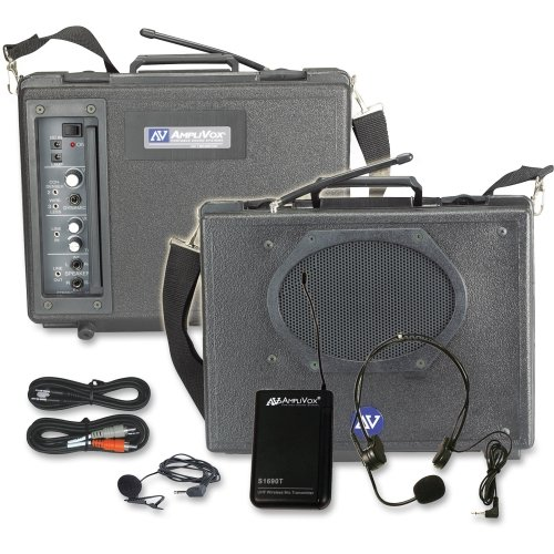 Aplsw222   Wireless Audio Portable Buddy Professional Group Broadcast Pa System