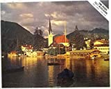 Tegern Lake, Germany - A Vintage Whitman 1000 Piece Puzzle #4777 Series