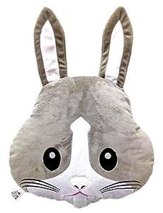 WEP Rabbit Bunny Emoji Pillow Emoticon Cushion Soft Plush Toy Doll