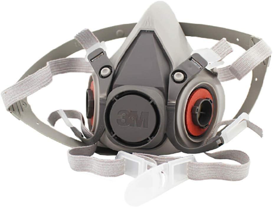 WFBP Máscara Completa Máscara De Respiración Protección Ante Gases de Incendio vapores y combustión Gas Reutilizable Aerosol Vapor Kit dräger