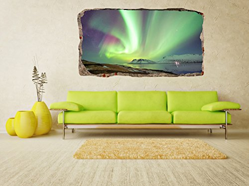 Charming Startonight 3D Mural Wall Art Photo Decor Aurora Borealis Amazing Dual View  Surprise Large Wall Mural Wallpaper For Living Room Or Bedroom Landscape  Wall ... Part 31