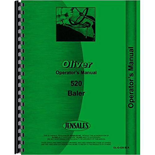 New Oliver 520 Baler Operators (Oliver Manual)