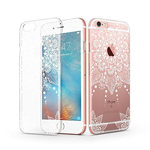purchase cheap 0c0e7 40329 iPhone 6s Case, iPhone 6 Clear Case, MOSNOVO White Totem Henna ...