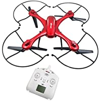 ?X102H RC Quadcopter with Camera Mounts for Gopro/SJ Camera Upgraded X101 Drone Red