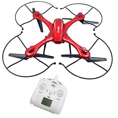 Acekid MJX X102H RC Quadcopter with Camera Mounts for Gopro/SJ Camera Upgraded X101 Drone Red
