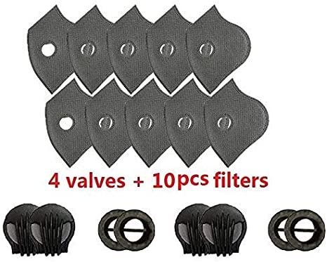 50pc Sports Breathing Valve Anti Dust Pollution for Replacement Outdoor Bicycle