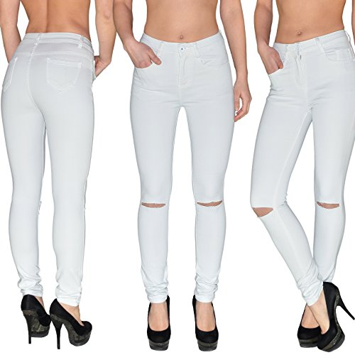 Skinny Femme Pantalon Jeans en tex Haute dchirs Basse Jeans Taille Genoux by Taille Femme Jean surdimensionner Z73 Z72 Jean ou afWxt