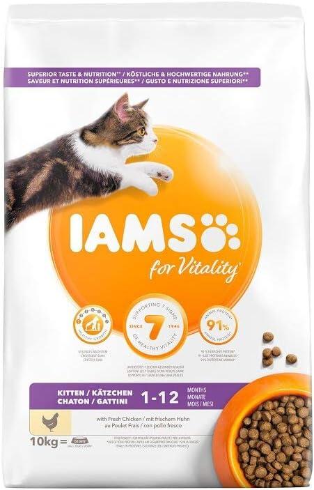 IAMS for Vitality Alimento para Gatitos con pollo fresco [800 g]
