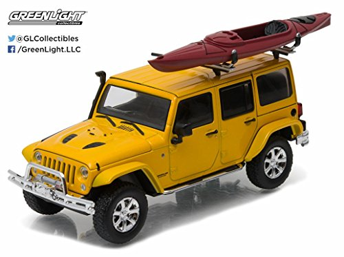 GreenLight 2016 Jeep Wrangler Unlimited with Winch, Snork...