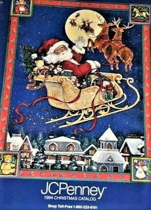 J C Penney Christmas Catalog 1994 (Jcpenney Catalog)