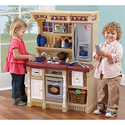 Amazon.com: Kids Kitchen Playset Play Cooking Sets Toys ...