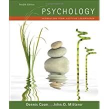 Psychology: Modules for Active Learning (with Concept Modules with Note-Taking and Practice Exams Booklet) by Dennis Coon (2011-01-01)