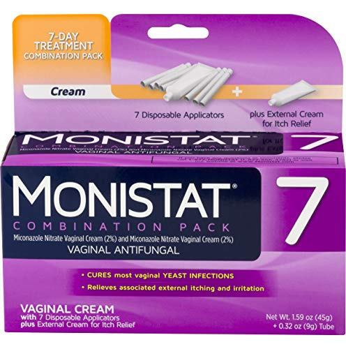 (Monistat 7-Day Yeast Infection Treatment | Cream + External Itch Relief Cream)