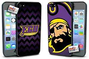 East Carolina Pirates Chevron Hard Case TWO PACK for iPhone 5/5s