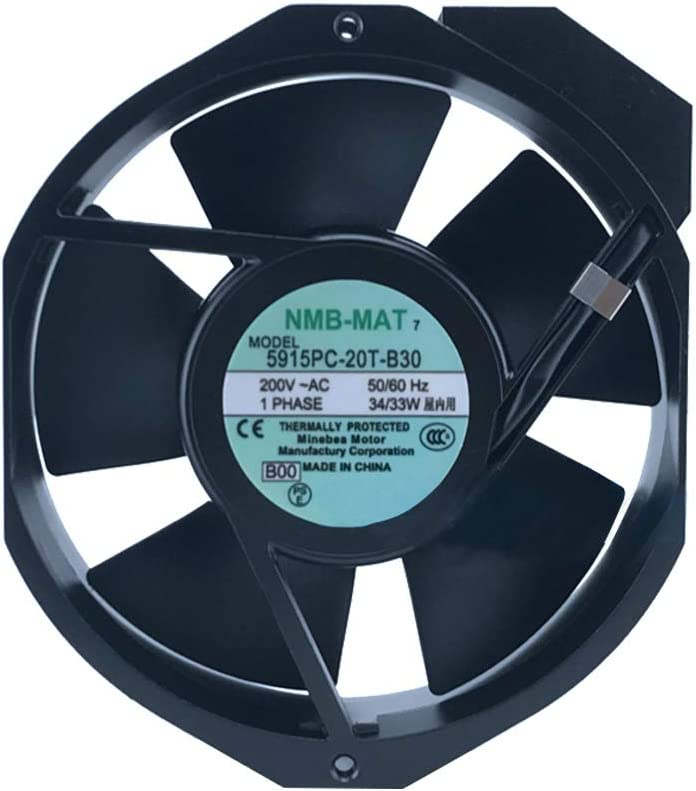 The Original NMB-MAT 5915PC-20T-B30 17238 17cm 172 150 38MM AC200V 33W Server Inverter Cooling Fan Big Power Fan 2wire