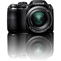 Fujifilm FinePix S3200 14 MP Digital Camera with Fujinon 24x Super Wide Angle Optical Zoom Lens and 3-Inch LCD (Certified Refurbished)