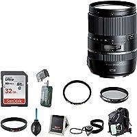 Tamron 16-300mm F/3.5-6.3 Di-II VC PZD Macro w/ Hood for Nikon with 32GB Accessory Kit