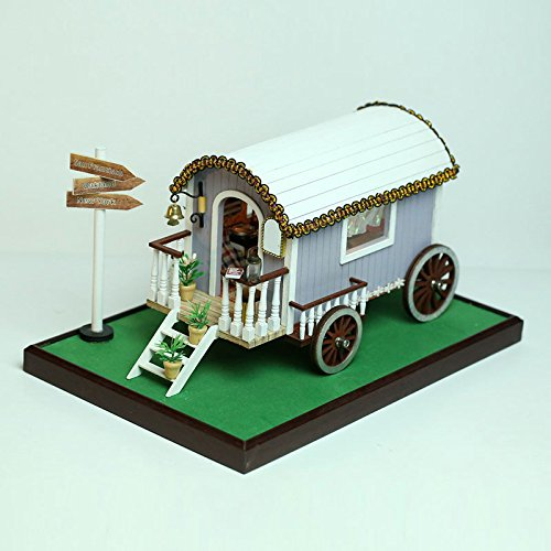 Wooden Dolls House Pram - 4
